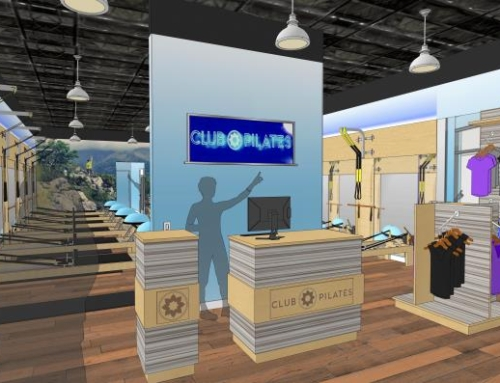 Hurd Construction Management awarded a tenant build-out for Club Pilates